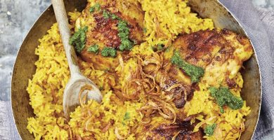 9F702092 0DF2 4DF7 BCD9 6032A369E8A1 GHEE SMOKED CHICKEN AND RICE POLLO Y ARROZ AHUMADOS CON GHEE DE FLAVORS OF THE SOUTHEAST ASIAN GRILL