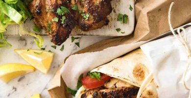 CHICKEN SHAWARMA 5 SHAWARMA DE POLLO (MEDIO ORIENTE) | RECETATIN EATS