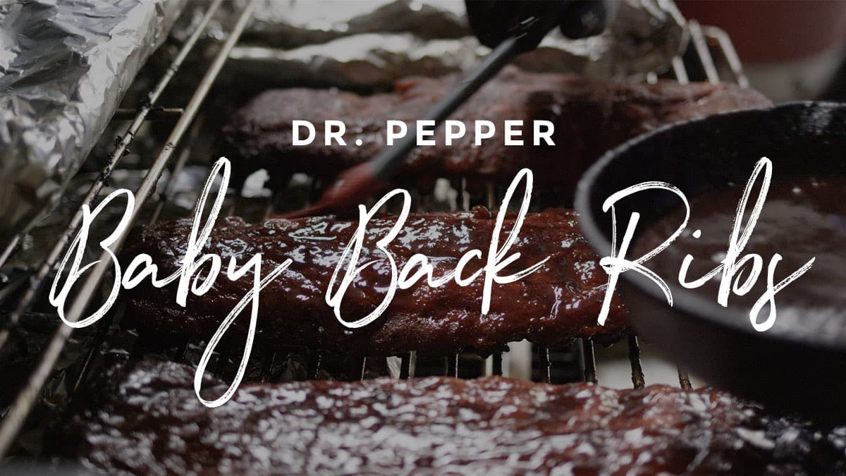 RECETA DR. PEPPER BABY BACK RIBS