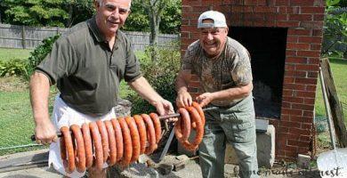 HOMEMADE PORTUGUESE CHOURICO FB 2 SALCHICHA PORTUGUESA - CHOURICO