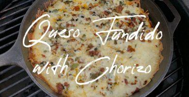 QUESO FUNDIDO WITH CHORIZO E1568994939287 QUESO FUNDIDO CON CHORIZO | QUESO FUNDIDO CON CHORIZO