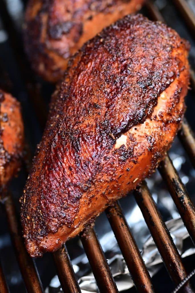 SMOKED CHICKEN BREAST 1 PECHUGA DE POLLO AHUMADA |  HEY GRILL, HEY