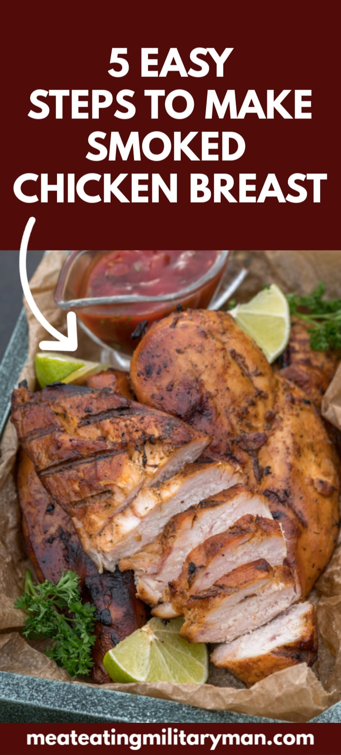 SMOKED CHICKEN BREAST RECIPE 2 PECHUGA DE POLLO AHUMADA [TRY THIS EASY STEP BY STEP RECIPE]