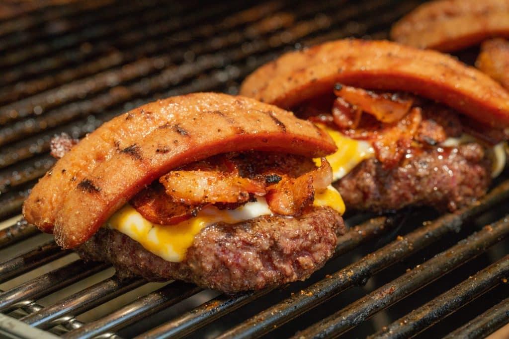Todas las hamburguesas americanas Hamburguesas americanas a la parrilla