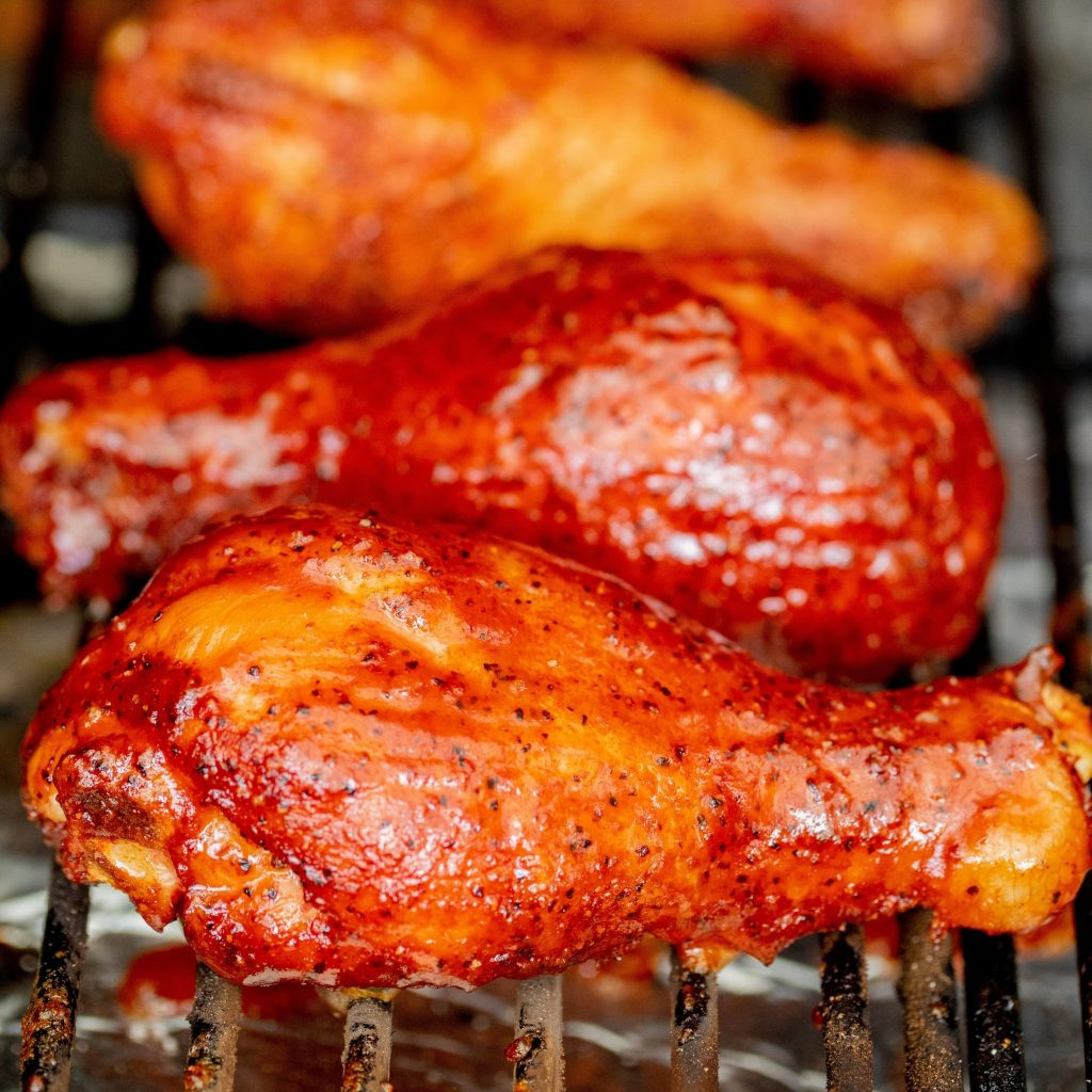 SMOKED CHICKEN LEGS 2 SCALED PATAS DE POLLO AHUMADAS