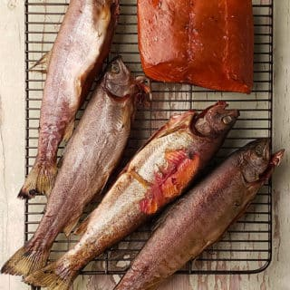 SMOKED TROUT WITH SALMON LA MEJOR CARNE PARA AHUMAR