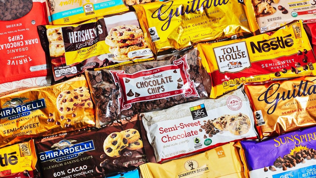 CHOCOLATE CHIP TASTE TEST PRODUCT SHOT 08082018 LAS MEJORES CHISPAS DE CHOCOLATE PARA HORNEAR GALLETAS Y MÁS