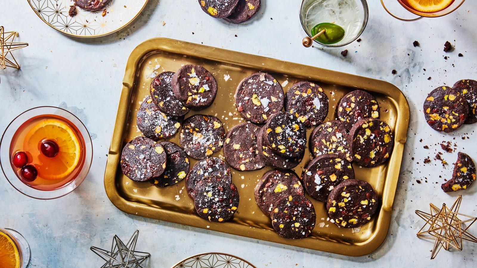CHOCOLATE SABLE COOKIES NEW YEARS 28112017 117 MEJORES RECETAS DE GALLETAS NAVIDEÑAS PARA PASAR LAS VACACIONES