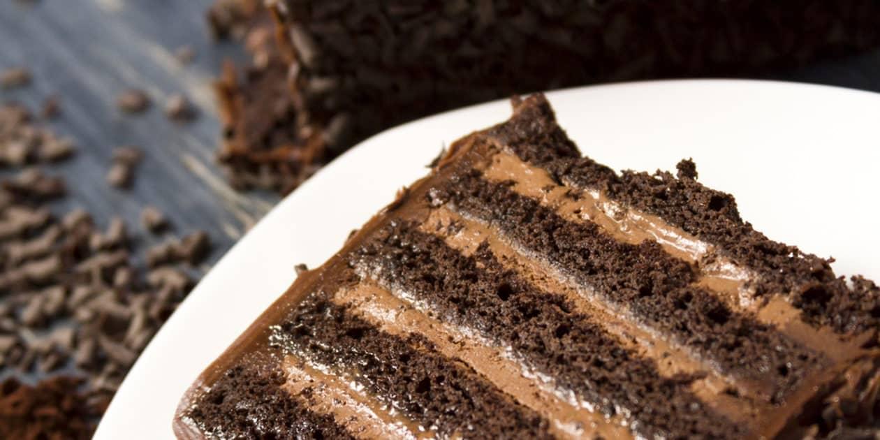 CHOCOLATE STOUT CAKE RECETA DE PASTEL DE CHOCOLATE STOUT   EPICURIOUS.COM