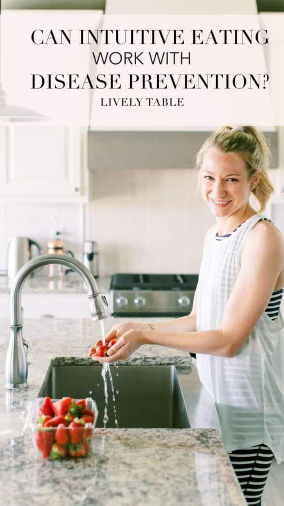 INTUITIVE EATING DISEASE PREVENTION ¿PUEDE LA ALIMENTACIÓN INTUITIVA TRABAJAR CON LA PREVENCIÓN DE ENFERMEDADES?