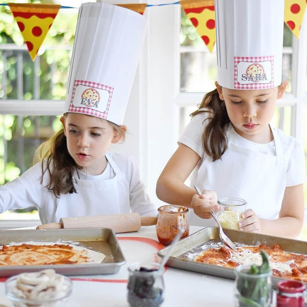 PIZZA BIRTHDAY PARTY 1 LA MEJOR COMIDA, DECORACIONES Y OBSEQUIOS