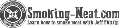 SMOKING MEAT COM LOGO 400X95 2 FUMAR PAVO EN UN AHUMADOR DE AGUA BRINKMAN