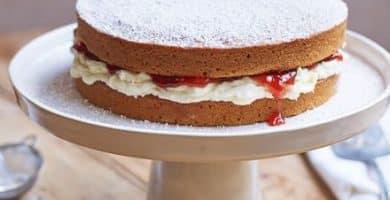 VEGAN SPONGE CAKE EEFA085 RECETA DE BIZCOCHO VEGANO | BBC BUENA COMIDA