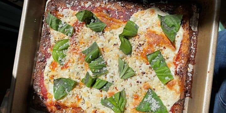 284434 NO FAIL CAULIFLOWER CRUST PIZZA RECETAS SIN FALLAS: PIZZA CON CORTEZA DE COLIFLOR