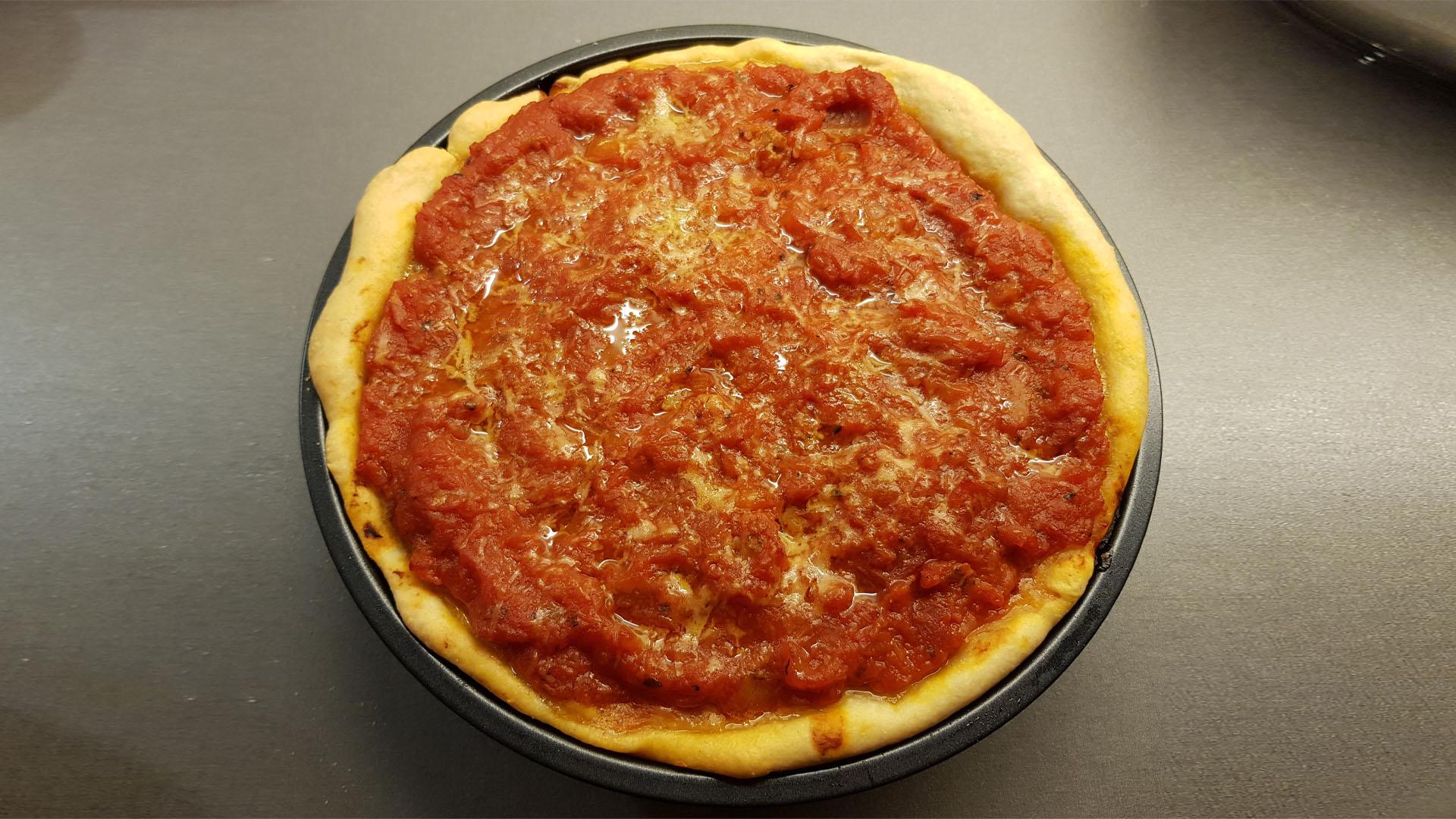 CHICAGO PIZZA LA MEJOR RECETA DE PIZZA DE CHICAGO