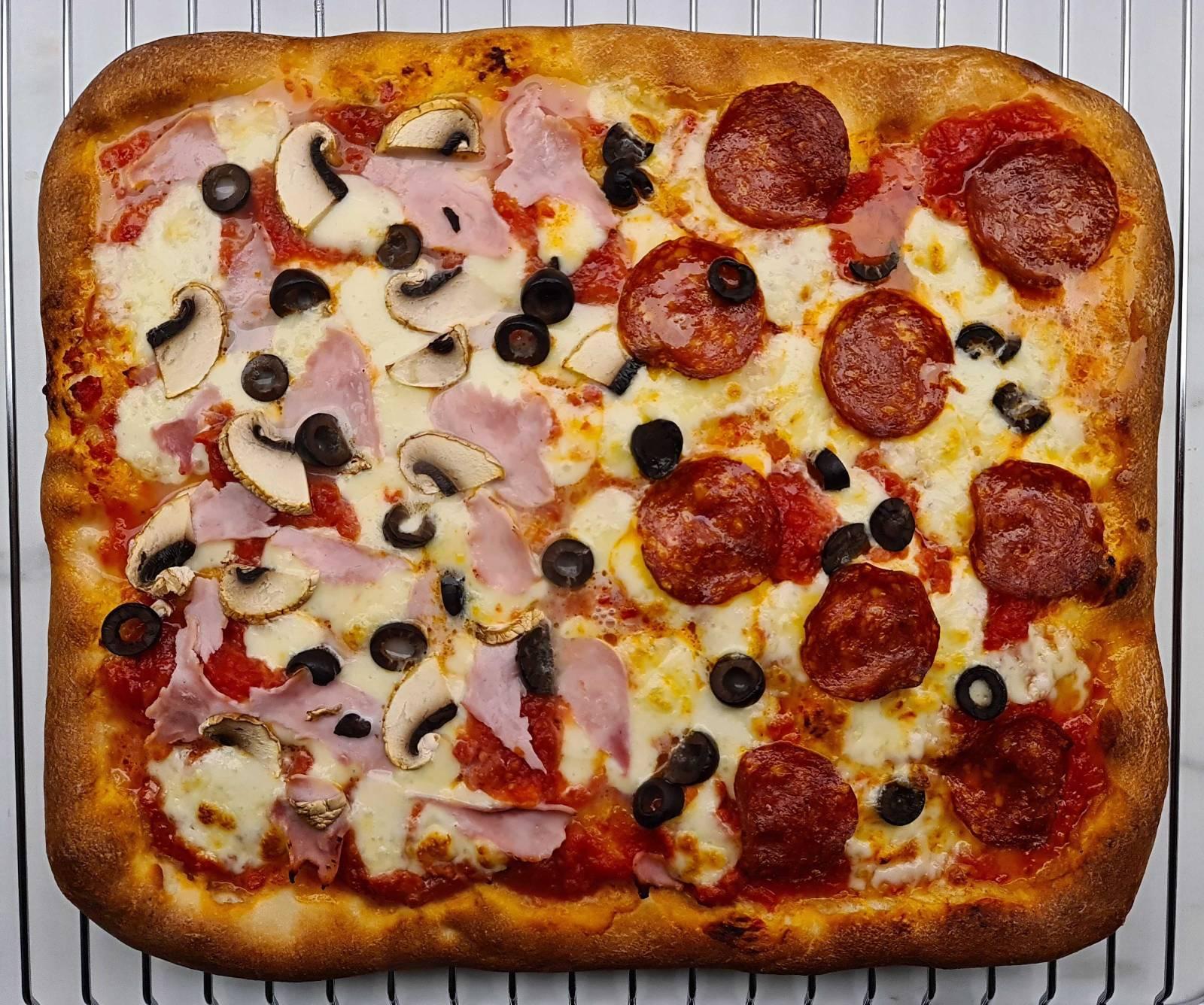 SICILIAN PIZZA DOUGH RECIPE 1 ¡LA MEJOR RECETA DE MASA DE PIZZA SICILIANA! (CON IMÁGENES)