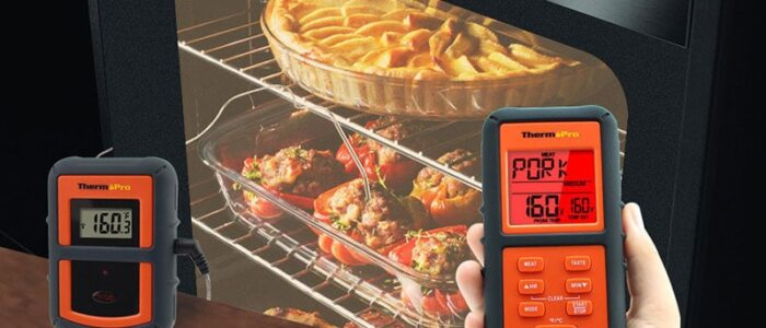 PUT THERMOMETER IN OVEN BARBACOA