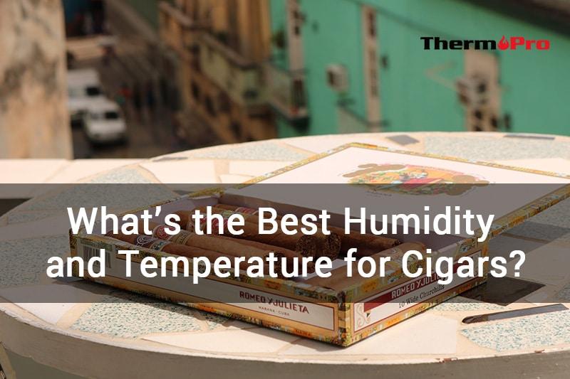 WHATS BEST HUMIDITY AND TEMPERATURE FOR CIGARS ¿CUÁL ES LA MEJOR HUMEDAD Y TEMPERATURA PARA LOS CIGARROS?